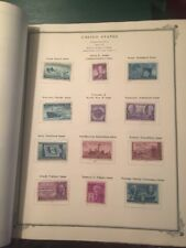 Scott's American Album for United States  1958 Approx 111 STAMPS