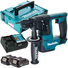 Makita HR140DZ 12V CXT SDS+ Hammer Drill with 2 x 2.0Ah Batteries Charger & Case