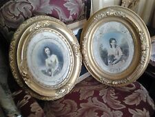 3 pieces - Antique Art with Ornate Frames $40/each