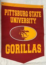 Pittsburgh State Gorillas Ncaa Banner