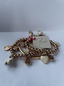 Bibi Bijoux Rose Gold Effect Charm Bracelet