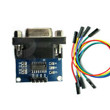 MAX3232 RS232 Serial Port To TTL Converter Module DB9 Connector for Arduino