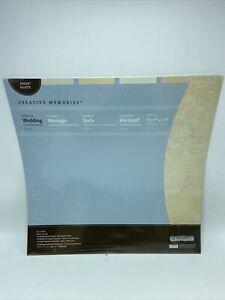 "Creative Memories Power Palette Romance Wedding Designer 12""x12"" Paper 16 Sheets"
