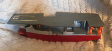 Vintage 1988 Galoob Micro Machines Aircraft Carrier  Play Set~As Is Incomplete