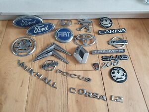 Old Car Badges Job Lot 2
