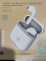 Polaroid True Wireless Bluetooth Earbuds with QI Enabled Case