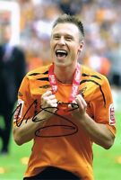 Signed Nick Barmby Hull City Play Off Final 2008 Photo