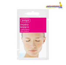3 x ZIAJA FACE MASK SOOTHING WITH PINK CLAY SENSITIVE SKIN 7ml  00699