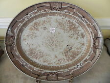 Antique Chinese Export Fitzhugh Platter 18th Century 16 x 13 x 1 1/2 Inches
