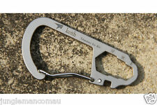 Carabiner Titanium Carabineer snap hook clip Spanner hold 25kg weight 11gr KEITH
