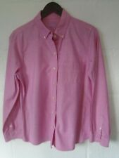 L.L.Bean pink Oxford shirt M/14