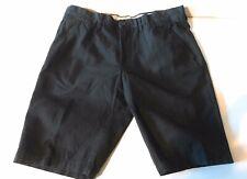 Nautica Clipper 100% Cotton Men's 35W Black Shorts