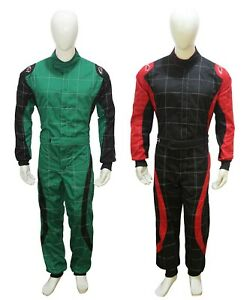Adult Karting Suit Kart Race Rally suits Adult Poly cotton One Piece New