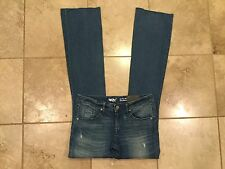Mossimo jeans New w/tags Mid rise, skinny boot, distress, super stretch Size 00R