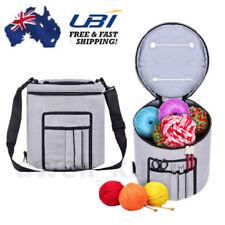 Woolen Yarn Storage Bag Canvas Knitting Crochet Ball Holder Organizer Bag Basket