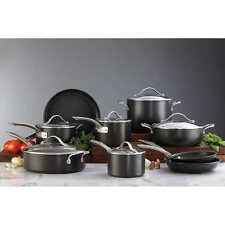New Kirkland Signature Hard Anodized Non Stick 15 Piece Cookware Set