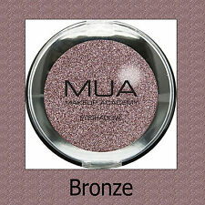 MUA MONO SINGLE EYESHADOW - BRONZE - PEARL METALLIC BRONZE