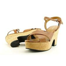 Coach High (3 in. and Up) Leather Sandals & Flip Flops for Women