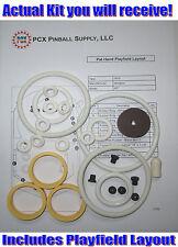 1975 Williams Pat Hand Pinball Machine Rubber Ring Kit