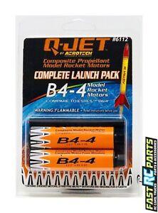 QUS6113 B4-6 2-Pack Model Rocket Motors Quest Aerospace Rockets