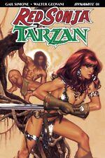 RED SONJA TARZAN #1 COVER A HUGHES D. E. DYNAMITE ENTERTAINMENT JUNGLE 5218