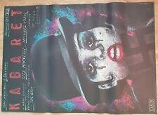 CABARET, Original Polish Poster, size 27x38, 88,wild, Liza Minelli, movie poster
