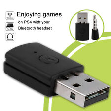 Mini Bluetooth Headset Dongle USB Adapter Receiver for Playstation 4 PS4 Black
