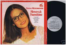 LP NANA MOUSKOURI ROSES & SUNSHINE (GRAND RECORDS CANADA)