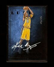 1/1 2015-16 KOBE BRYANT PANINI BLACK LUXE AUTO **TRULY EXQUISITE ONE-OF-ONE**