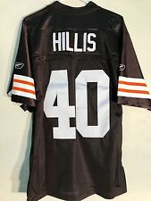 Reebok Premier NFL Jersey Browns Peyton Hillis Brown Alternate sz L