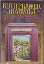 Ruth Prawer Jhabvala  THREE CONTINENTS 1st Ed. HC Book
