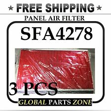 3X AIR FILTER SFA4278 PA2135 143-2057 274 46116 A975C AF4278 AF882 CA4309 3SHIP