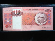 Angola 10 Kwanzas 1999 P145 88# Bank Currency Money Banknote