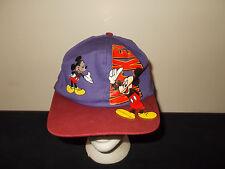 VTG-1990s Mickey Mouse Disney Cartoon snapback hat sku28