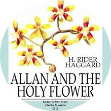 Allan and the Holy Flower Adventure Audiobook by H Rider Haggard on 1 MP3 CD