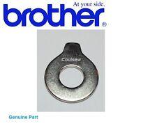 Genuine brother machine à coudre aiguille plaque tournevis épais plat plaque ronde