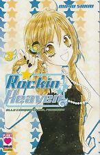 Rockin' Heaven n.  3 di Mayu Sakai  ed.Panini