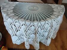 ROUND CROCHET TABLE CLOTH