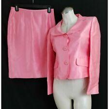 NWT Kasper Size 2P Pink Skirt Suit