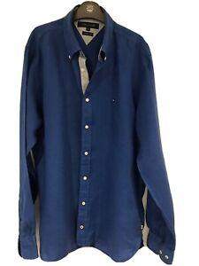 Men's Tommy Hilfiger Linen Shirt Size M