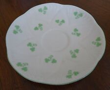 Shelley 14114 England Shamrock Saucer for Tea Coffee Cup ONLY NO Cup Available