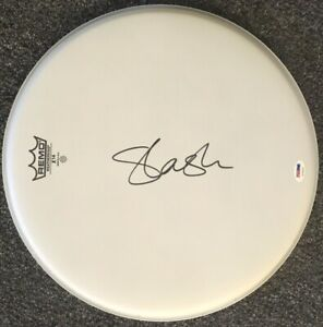 Slash autographed signed Remo 13 inch drumhead (with PSA/DNA COA) Guns N' Roses