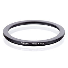 RISE (UK) 77-67MM 77MM-67MM 77 to 67 Step Down Ring Filter Adapter