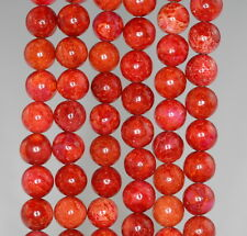 6MM RED TURQUOISE JASPER GEMSTONE ROUND 6MM LOOSE BEADS 16""