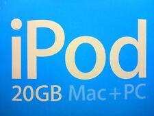 Apple iPod classic 4. Generation Weiß (20GB) in ORIGINALVERPACKUNG gepflegt #109