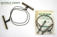 Original French Army NATO Issue Hand Saw Wire Saw Commando Wood Branch Military