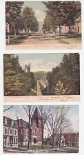 Antique Post Card Lot of 3 New Hampshire