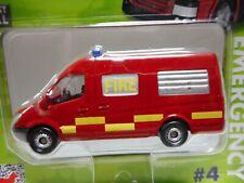 Mercedes-benz sprinter van fire n4 corgi toys ty669