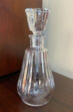 Baccarat Camus Cognac Decanter with Faceted Stopper -- Tallyrand Pattern