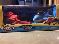 NEW Junior Racers Push N Go Super Sonic Jet and Jet Racer